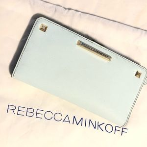 Rebecca Minkoff blue wallet